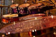 Haut étroit de tambours de fragment Photo stock