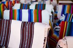 Haut étroit de textiles du Brésil et du Paraguay Images stock