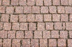 Haut étroit de trottoir Image stock