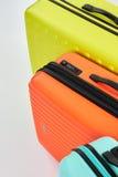 Haut étroit de valises élégantes Images libres de droits