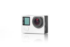 Haut appareil-photo d'action de définition Photographie stock libre de droits