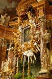 Haut autel baroque Images libres de droits