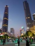 Haut bâtiment dans Guangdong images stock