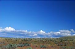 Haut désert Photographie stock
