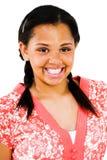 haut d'adolescent de sourire de fille proche Photographie stock libre de droits