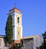 Haut de cagnes. Chapel notre dame de protection painted by renoir haut de cagnes village nice hinterland alpes maritime provence cote d'azur france europe Royalty Free Stock Image