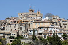 Haut de Cagnes, French riviera Royalty Free Stock Image
