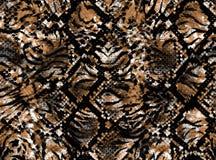 Haut eines Leoparden stock abbildung