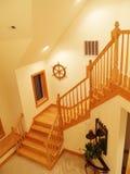 Haut escalier Photos libres de droits