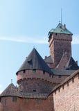 Haut-Koenigsbourg Castle Royalty Free Stock Photos
