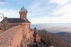 Haut-Koenigsbourg Castle Stock Image