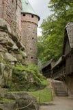 Haut-Koenigsbourg Castle at Alsace Stock Images
