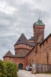 Haut-Koenigsbourg Castle, Alsace, France Stock Images