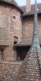Haut-Koenigsbourg Castle detail in France Royalty Free Stock Photography