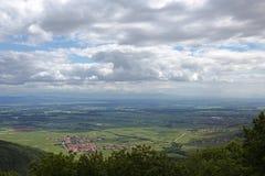 Haut_koeningsbourg Royaltyfria Foton