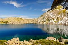 Haut lac Images stock