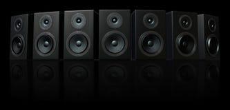 haut-parleur 3D Images stock