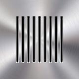 Haut-parleur abstrait d'audio en métal Image libre de droits