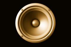 Haut-parleur acoustique Photos libres de droits