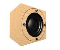Haut-parleur cubique 1 Images stock