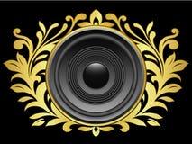 haut-parleur de crête Image stock
