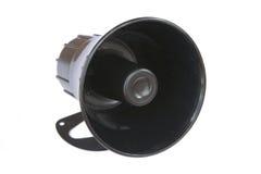 Haut-parleur de klaxon photographie stock