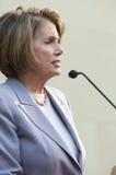 Haut-parleur de la Chambre Nancy Pelosi Photo stock