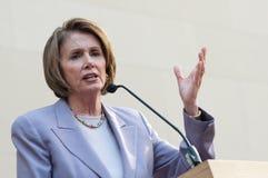 Haut-parleur de la Chambre Nancy Pelosi photos libres de droits