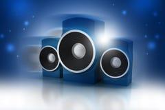 Haut-parleur de musique Images stock