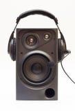 Haut-parleur et écouteurs Image libre de droits