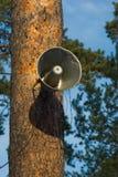 haut-parleur extérieur photos libres de droits
