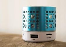 Haut-parleur futé de téléphone d'usb de dent bleue Image libre de droits