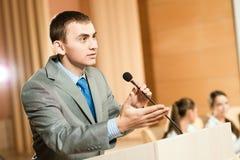 Haut-parleur mâle Image libre de droits