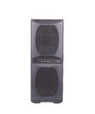 Haut-parleur noir de PC Photographie stock