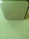 Haut-parleur portatif de musique images stock