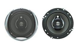 Haut-parleur pour l'audio de voiture images libres de droits