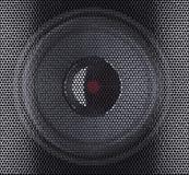 Haut-parleur sonore photographie stock