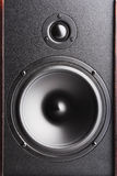 Haut-parleur sonore. Le matériel musical Image stock
