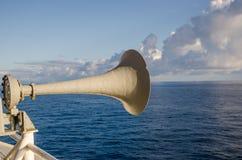 Haut-parleur sur le ferry Images libres de droits