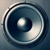 Haut-parleur - type de musique Image libre de droits