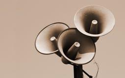 Haut-parleurs photo stock