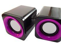 haut-parleurs audio Images stock