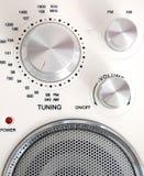 Haut-parleurs avec la radio Images stock