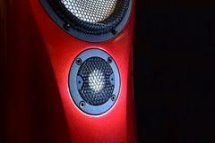 Haut-parleurs - conception intérieure industrielle moderne de haut-parleurs Photographie stock libre de droits