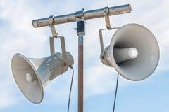 Haut-parleurs d'annonce publique Image stock