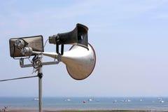 Haut-parleurs d'annonce publique Images stock