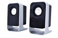 Haut-parleurs d'ordinateur Photos stock
