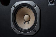 Haut-parleurs de haute qualité Système de son de haute fidélité dans le magasin pour le studio d'enregistrement sonore Boîte de h photographie stock libre de droits