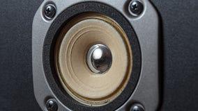 Haut-parleurs de haute qualité Système de son de haute fidélité dans le magasin pour le studio d'enregistrement sonore Boîte de h photo libre de droits