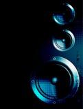 Haut-parleurs de musique Photo libre de droits